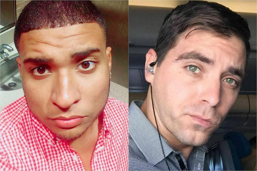 Stanley Almodovar III (left) and Edward Sotomayor Jr. are identified by the police as victims of the shooting massacre that happened at the Pulse nightclub of Orlando, Florida, on June 12.
