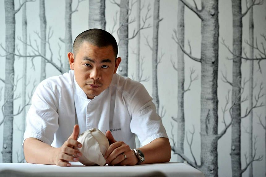 Mr Andre Chiang is the chef-owner of the high-end Restaurant Andre.
