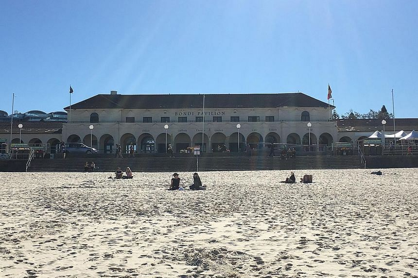 The Bondi Pavilion (left) has been used for Turkish baths, formal balls, an officers' club during World War II and, more recently, yoga classes and film festivals. But a planned revamp (right) includes a proposal to lease space to private operators o