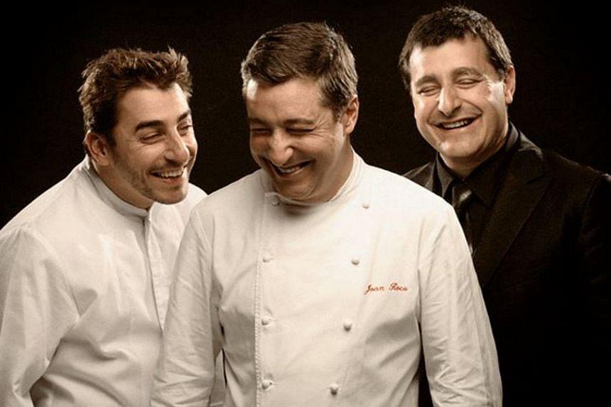 Chefs of El Celler de Can Roca in Spain.