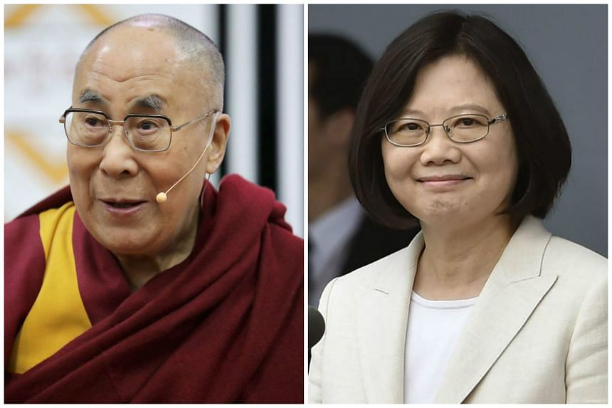 China warned the United States to stick by its promises ahead of a US visit by Tsai Ing-wen and a possible meeting between the Dalai Lama and US President Barack Obama.