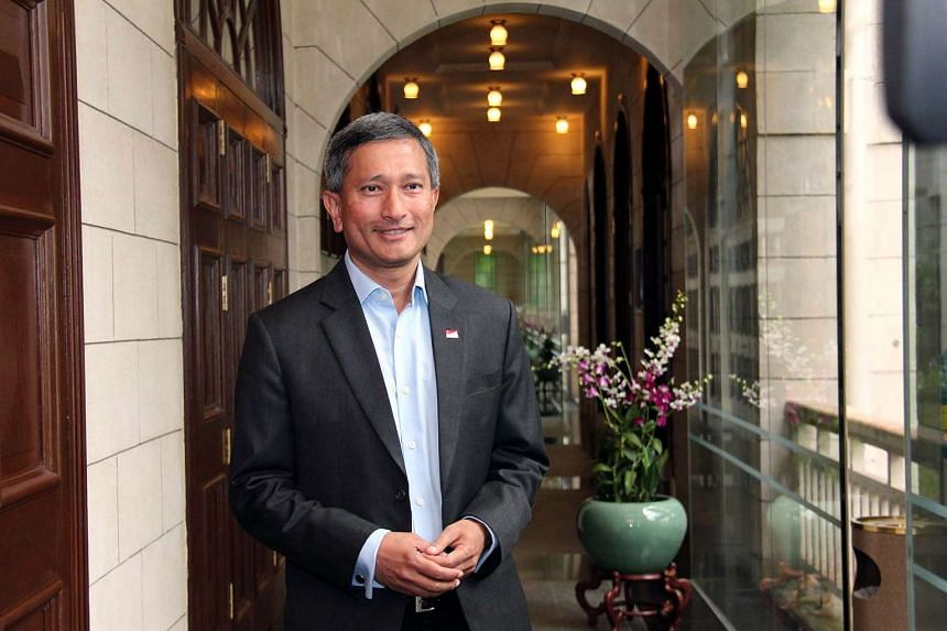Singapore's Foreign Minister Vivian Balakrishnan said Asean ministers had expressed serious concerns to China over recent South China Sea developments on June 14, 2016.