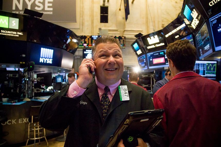 A trader working on the floor of the New York Stock Exchange on June 13.