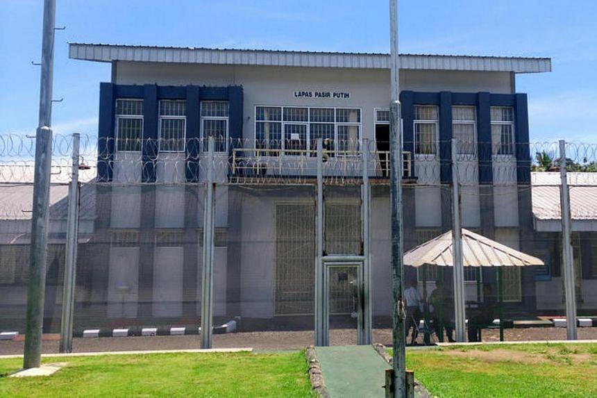 Exterior of Nusakambangan maximum-security prison island in Central Java, Indonesia.