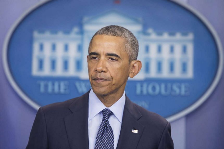 US President Barack Obama delivers a statement on the mass shooting at a nightclub in Orlando, Florida, at the White House in Washington, DC, on June 12.