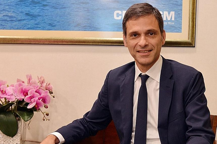 CMA CGM vice-chairman Rodolphe Saade says the primary objective is to stop NOL's losses.