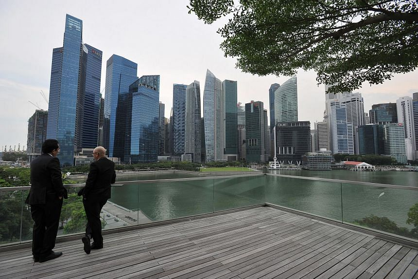 Private economists expect the Singapore economy to expand 1.8 per cent - lower than the 1.9 per cent figure in the March survey.