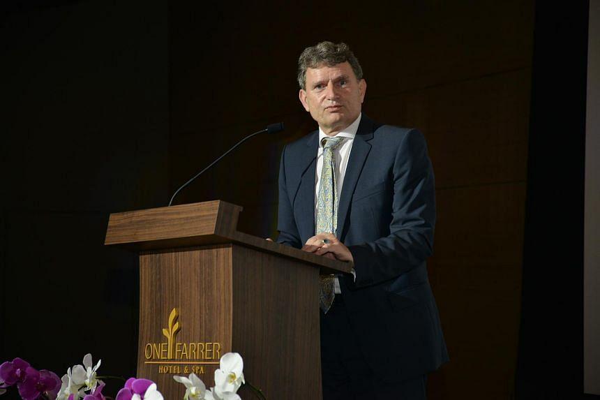 EU ambassador to Singapore Michael Pulch.
