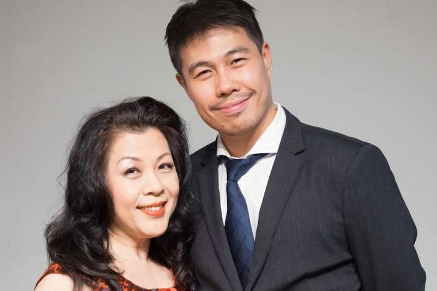 Nancy Yuen and Martin Ng (both above) play the leading roles in The Flying Dutchman.