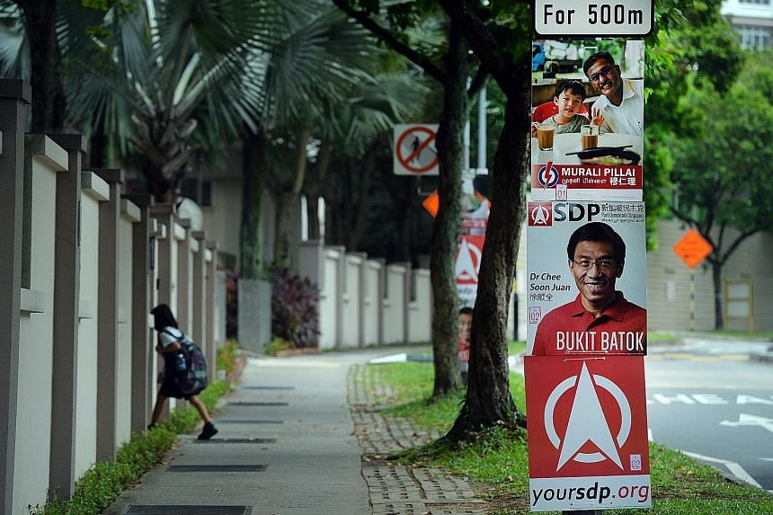 For both Mr Murali and Dr Chee, rally logistics and campaign materials made up the bulk of their by-election bills.
