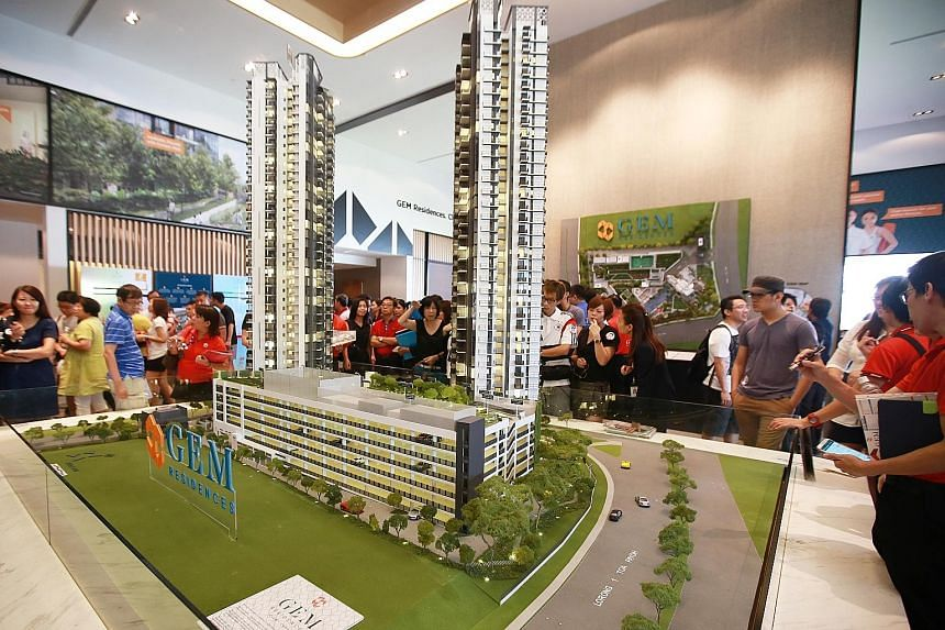 Gem Residences in Toa Payoh (above) sold 312 units at a median price of $1,431 per sq ft, while Stars of Kovan in Upper Serangoon Road moved 76 units at a median price of $1,414 psf.