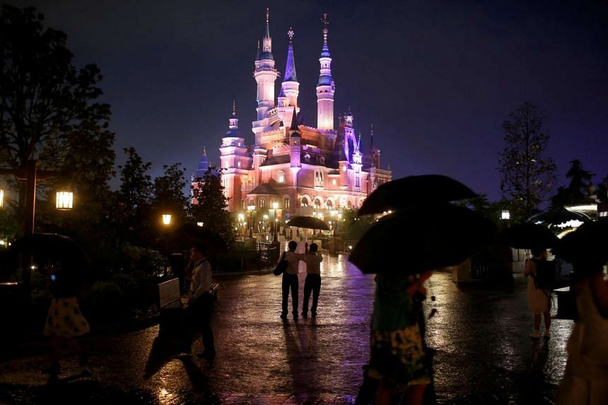 The Shanghai Disney Resort during its three-day grand opening on June 15.