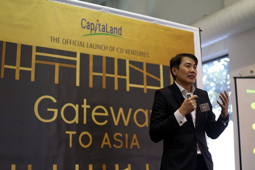 CapitaLand president and chief executive Lim Ming Yan announcing the initiative at a networking event in San Francisco on June 15.