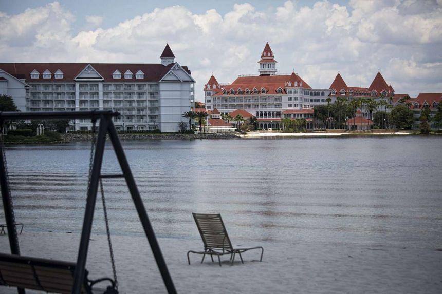 The beach near the Grand Floridian Resort & Spa at Walt Disney World Resort in Orlando, Florida, on June 15, 2016.