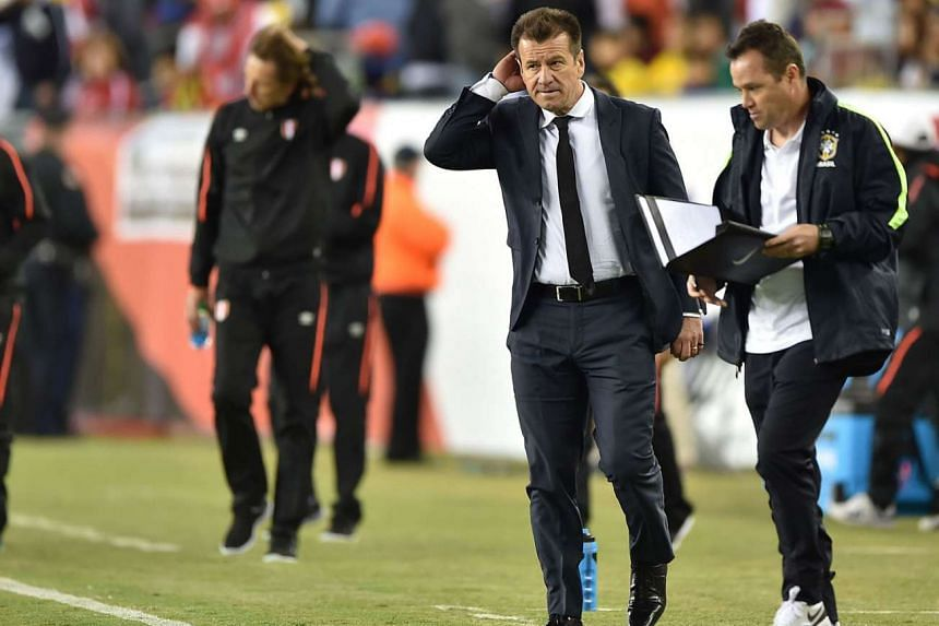 Having claimed after Brazil's group stage exit that he only feared death and not the sack, Brazil's 1994 World Cup-winning captain Dunga will have to seek employment elsewhere after failing to rouse the Selecao in their miserable Copa campaign, with the t