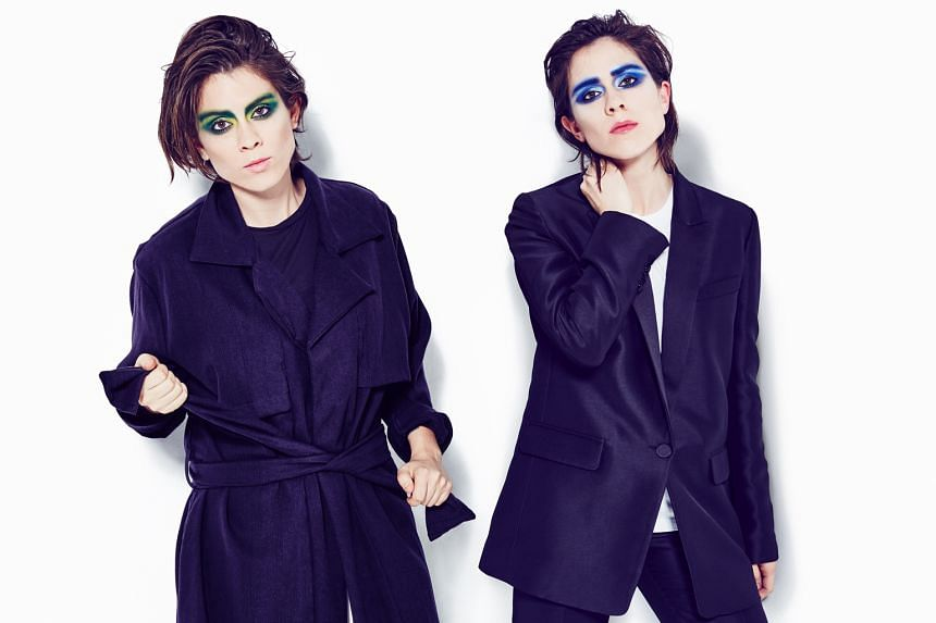 Award-winning twin sisters Tegan and Sara Quin's new album, Love You To Death, continues the synth-pop sound of their previous album Heartthrob.