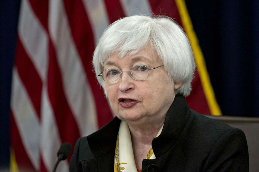 Janet Yellen speaks during a news conference on  June 15, 2016.