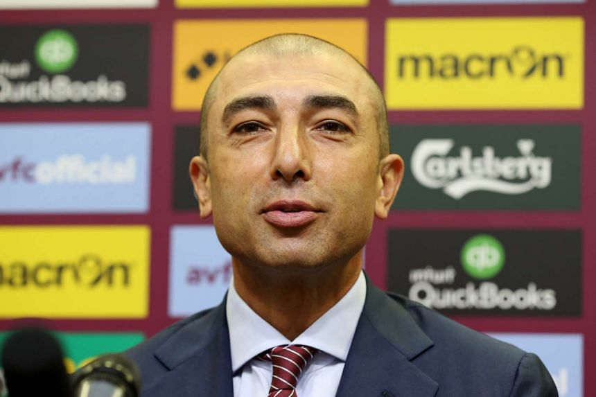 New Aston Villa manager Roberto di Matteo at a press conference on June 15, 2016.