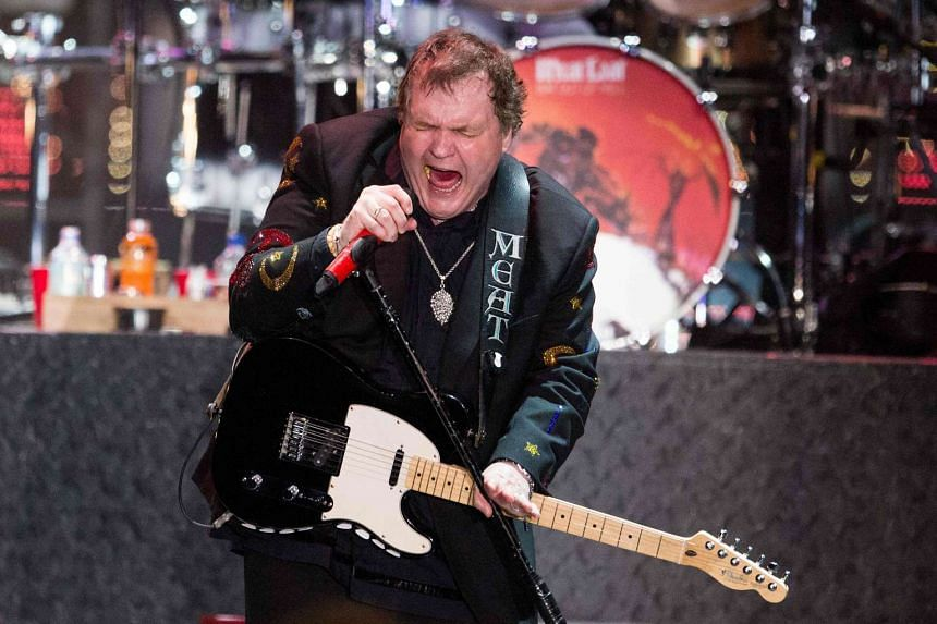 This file photo taken on May 11, 2013 shows US singer Marvin Lee Aday, aka Meat Loaf, performing on stage in Zwolle.