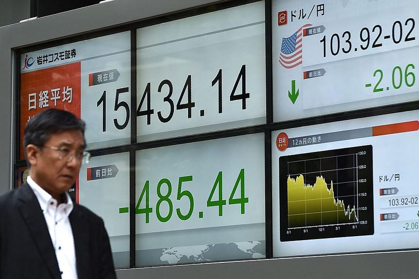 Tokyo stocks took the biggest hit among Asian equities yesterday, losing 3.05 per cent. Japan has decided not to launch further stimulus measures for now, while the US is maintaining its interest rates.
