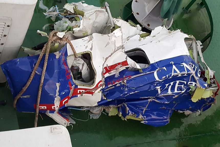 Debris found after a Coast Guard plane CaSa-212 number 8983 reportedly crashed into the sea on June 16.