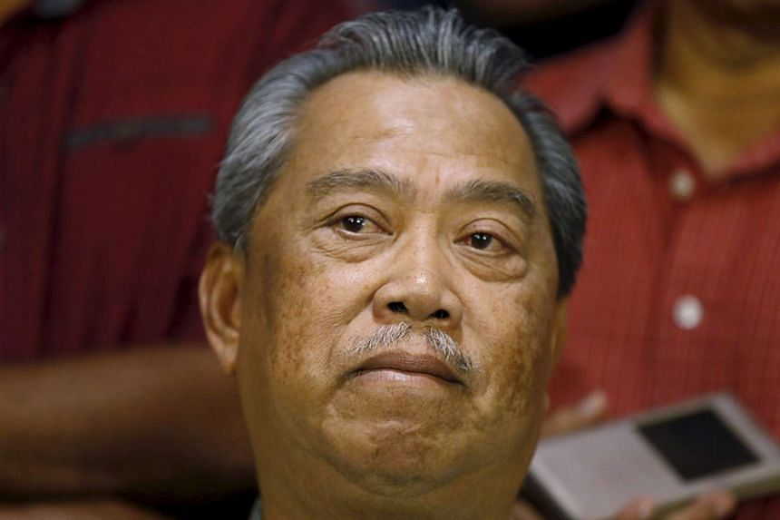 Former Malaysian DPM Muhyiddin Yassin.