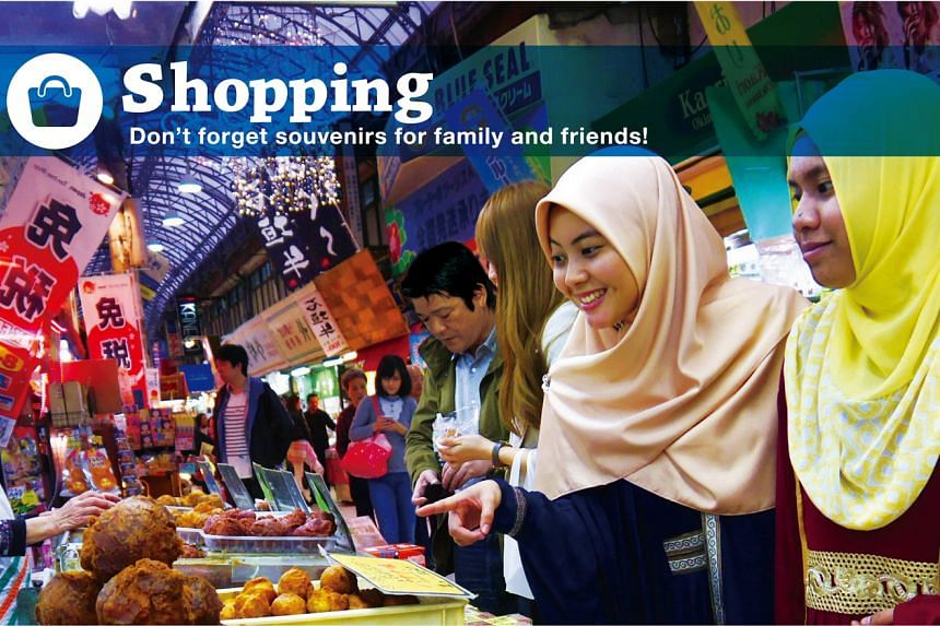 A brochure on Okinawa City and the entire Okinawa prefecture in Japan, which have been gaining popularity for their ability to cater to Muslim travellers and the destination is steadily becoming a famed holiday spot among the Muslim tourists around t