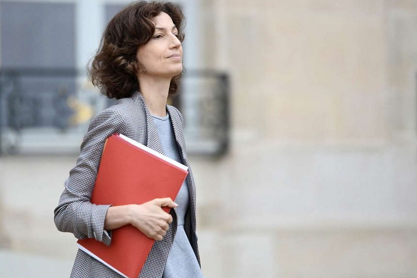 """French Culture Minister Audrey Azoulay said in a statement that this year's event was about """"overcoming our fears, fighting division, because music is stronger than those who want to shut it off""""."""