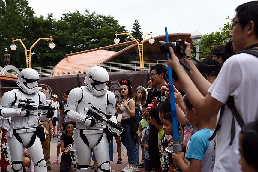 Hong Kong Disneyland will have to do more with the opening of Shanghai Disneyland, which is three times bigger. Last week, the Hong Kong theme park opened its Star Wars-themed attraction to woo more visitors.