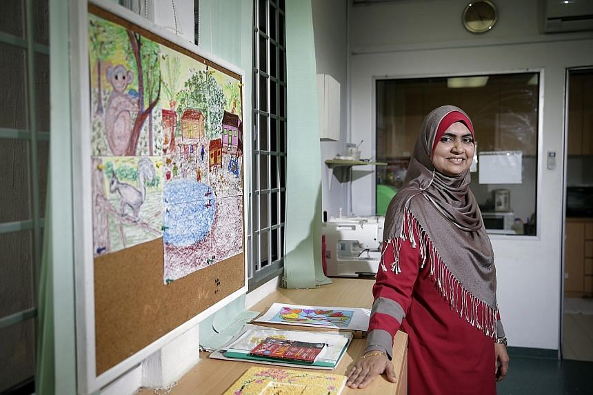 Ms Aneez's husband Mohamed Farook jumped off a block back in 2009, taking with him their only child Faheem. It took six years for her to pull herself out of the paralysing misery of losing her family at a single stroke. Ms Aneez works today as a full