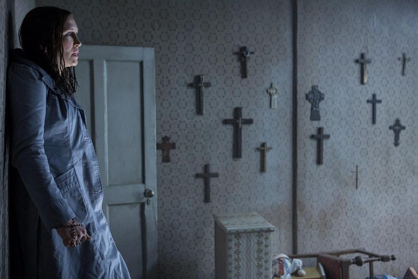 A movie still from The Conjuring 2.