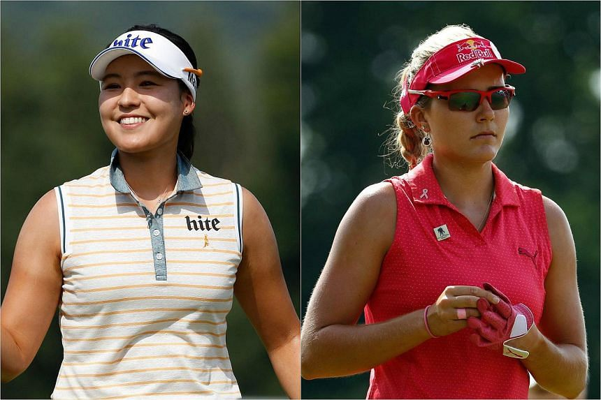 Chun In Gee (left) and Lexi Thompson.