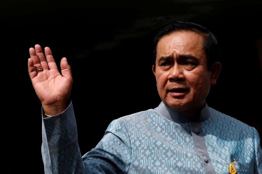 Thai junta chief Prayut Chan-o-cha reached out to the United Nations, on June 20, 2016, as tension rises ahead of an August referendum on a new constitution. PHOTO: REUTERS