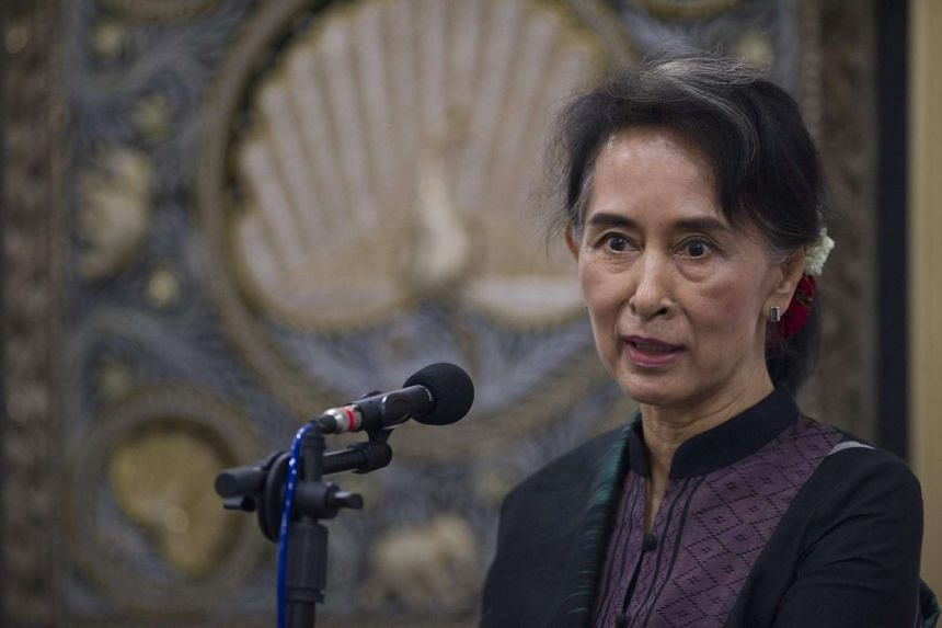 "Aung San Suu Kyi has told the UN Special Rapporteur on Human Rights that the government will avoid using the term ""Rohingya"" to describe a persecuted Muslim minority in the country's northwest."
