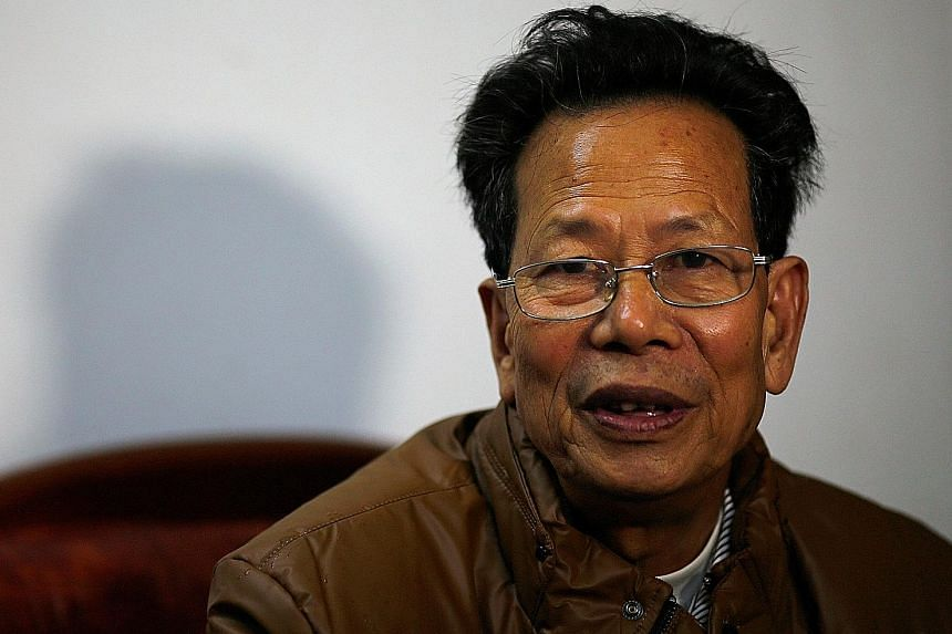 Shortly after village chief Lin called for a protest against illegal land grabs, he was arrested and said to have taken bribes.