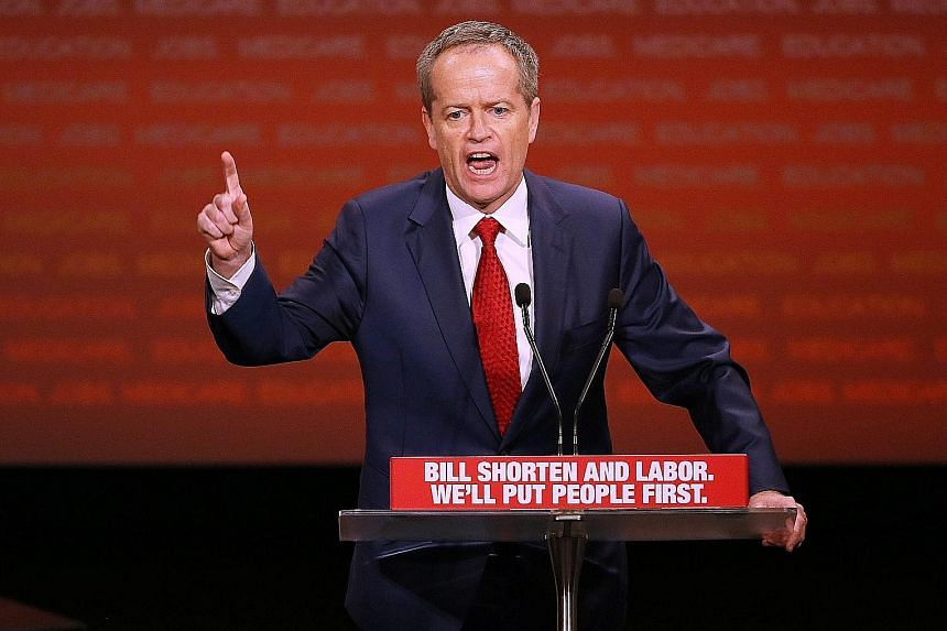 "Described as a ""shapeshifter"" by The Age newspaper, Mr Shorten has a history of switching beliefs and allegiances, yet voters appear to have forgiven him. If opinion polls prove correct, Labor could lose the coming election, but significantly reduce"