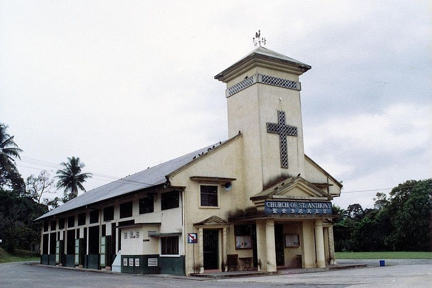 The Church of St Anthony, constructed in 1960, was the successor to a wooden chapel which served Mandai residents, including Catholic refugees from China who settled there in the 1920s.