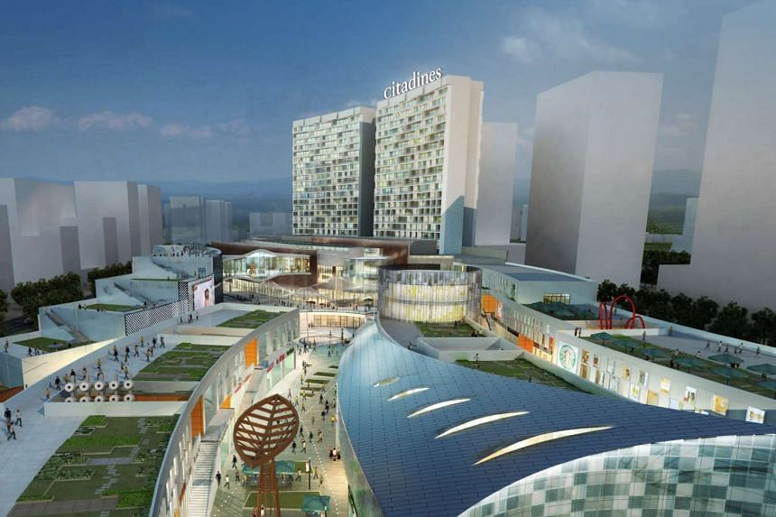 Citadines in Keqiao, Shaoxing.