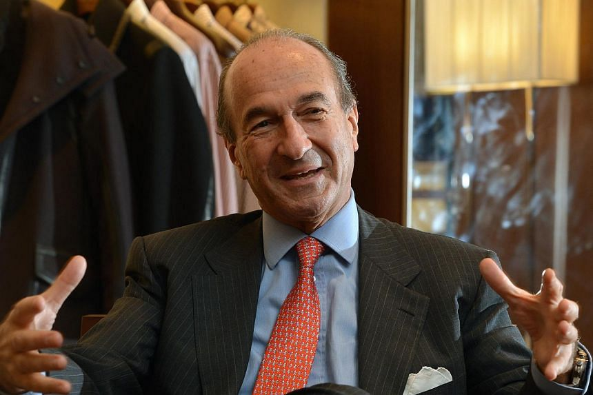 Michele Norsa, chief executive officer (CEO) and group managing director of Salvatore Ferragamo.