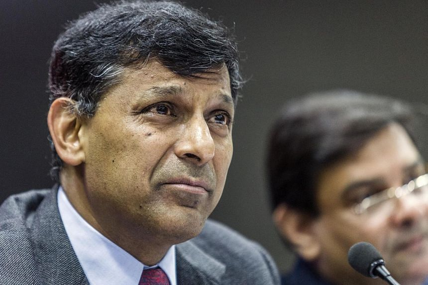 Raghuram Rajan, governor of the Reserve Bank of India, at a news conference in Mumbai, India, on June 7.