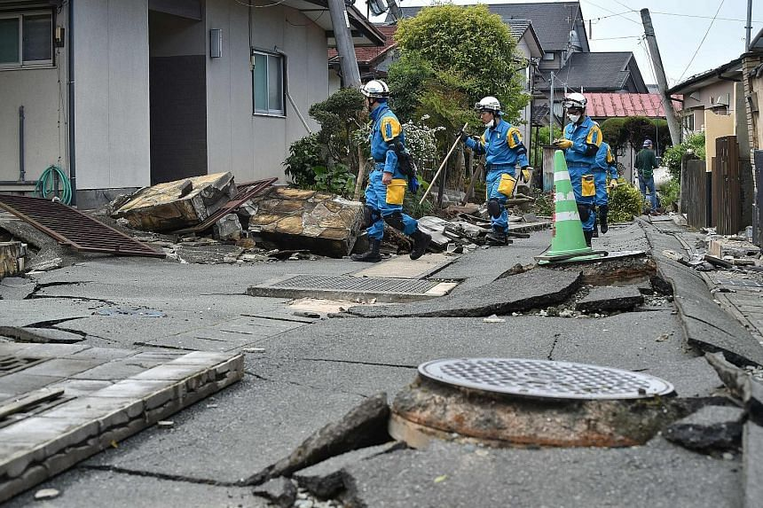 The Kumamoto earthquakes in mid-April not only destroyed homes, but also stopped production of electronics and car parts at factories in the area. Many companies resumed production quickly, but it has taken a while for some plants to return to full c