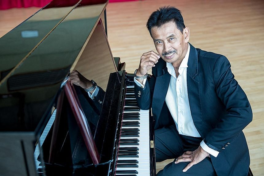 Singers from Singapore and Malaysia will pay tribute to composer S. Atan (above) at a concert celebrating some of his best-known hits.