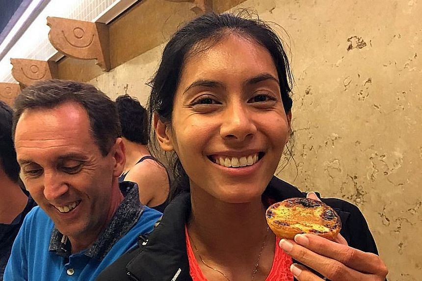 """Back in competition after recovering from an ankle injury in December that kept her out for three months, Dipna Lim-Prasad said her third-place timing of 55.59sec in Portugal on Sunday is """"such a breakthrough for me personally to not just finally get"""