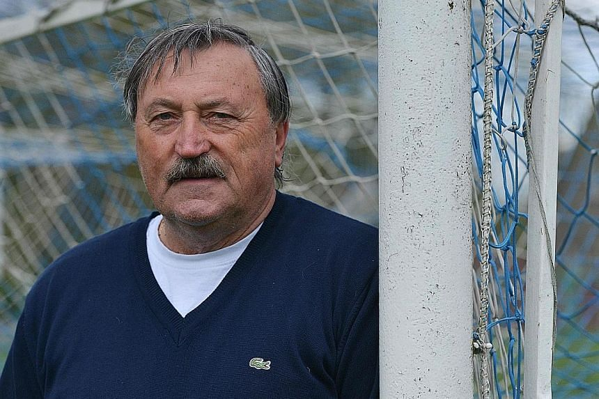 Antonin Panenka, 67, famously used the chip-in penalty to score against Germany at Euro 1976.
