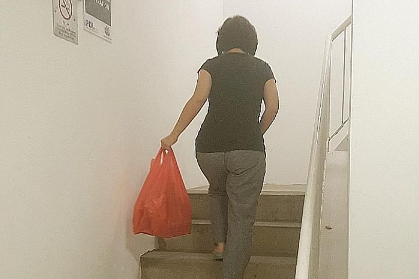 Many residents had to climb the stairs to their homes. Residents were also upset that action was not taken earlier as two lifts had been out of action since that morning. Sunday night's breakdown of all three lifts at an HDB block in Woodlands left f