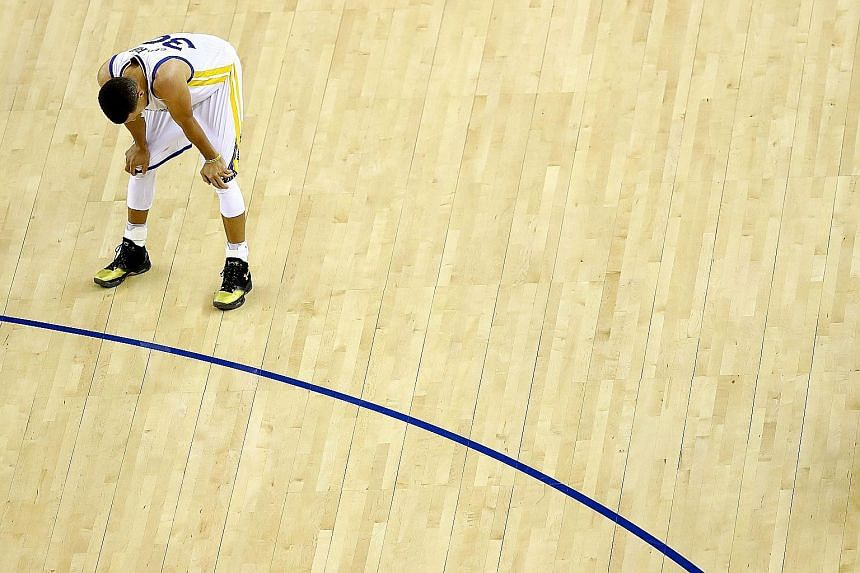 Golden State's star point guard Stephen Curry failed to lead his team to a repeat of their success last season, as they succumbed to what will, for now, be remembered as the greatest collapse in NBA history. The Warriors relinquished a 3-1 Finals ser