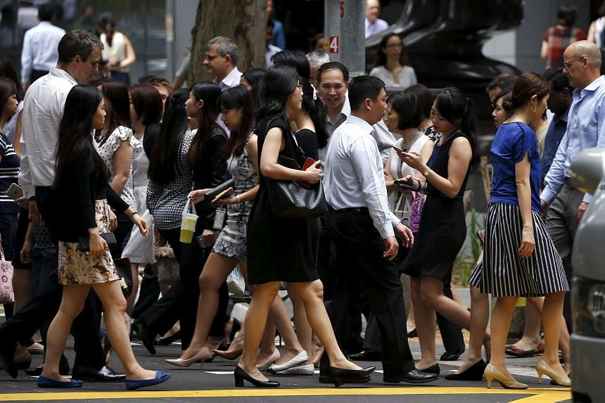 Last year, 202,400 Singaporeans and permanent residents were employed on term contracts, making up 11.3 per cent of the resident workforce.