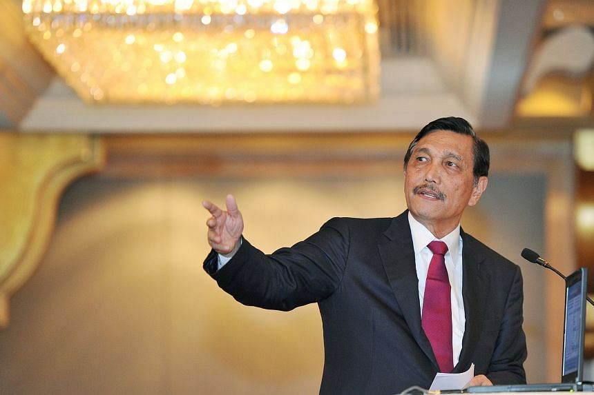 Indonesia's Coordinating Minister for Political, Security and Legal Affairs Luhut Pandjaitan defends navy for firing at Chinese boats.