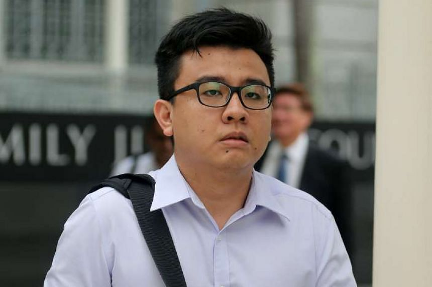 Yang Kaiheng arriving at the State Courts on April 5, 2016. He is expected to be back in court today (June 22).