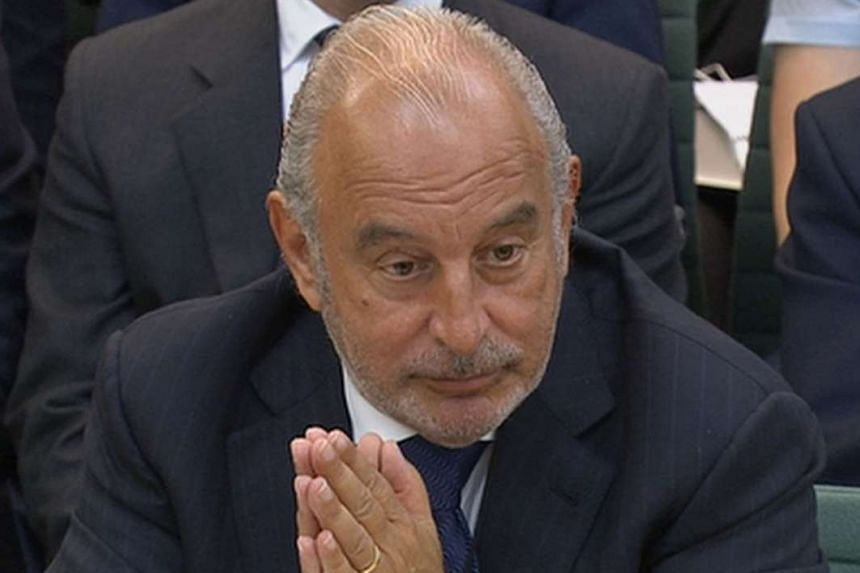 Sir Philip, the retail tycoon who sold BHS last year, appeared before British MPs last week to answer questions on the collapse of the retailer.
